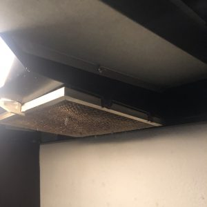 Oven Vent with Bird Nest